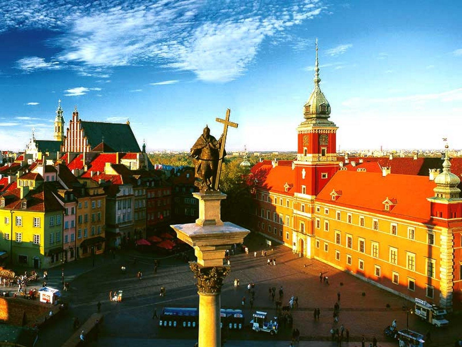 Варшава картинки, объемная для открытки