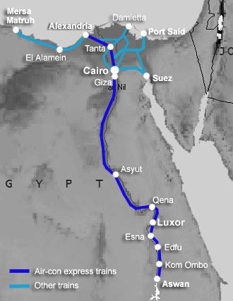 Egypt-train-map